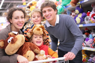 Family fun at Tates Toyworld